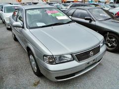 沖縄の中古車 日産 サニー 車両価格 49万円 リ済込 平成15年 1.8万K シルバー