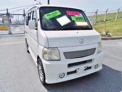 沖縄の中古車 ホンダ バモス 車両価格 45万円 リ済込 平成16年 7.4万K パール