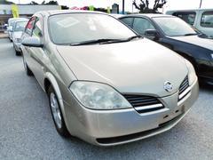 沖縄の中古車 日産 プリメーラ 車両価格 48万円 リ済込 平成13年 4.6万K ゴールド