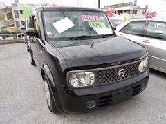 沖縄の中古車 日産 キューブ 車両価格 48万円 リ済込 平成19年 10.9万K ブラック