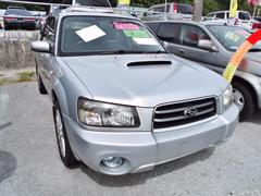 沖縄の中古車 スバル フォレスター 車両価格 50万円 リ済込 平成16年 9.9万K シルバー