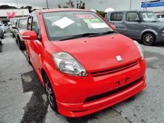 沖縄の中古車 トヨタ パッソ 車両価格 50万円 リ済込 平成16年 9.3万K レッド