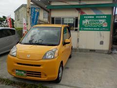 沖縄の中古車 ホンダ ライフ 車両価格 26万円 リ済込 平成21年 12.5万K イエロー
