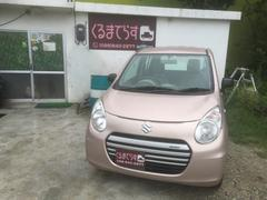沖縄の中古車 スズキ アルトエコ 車両価格 34万円 リ済込 平成25年 11.6万K ピンクM