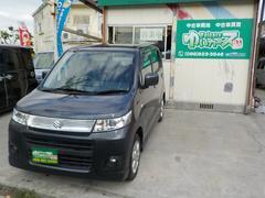 沖縄の中古車 スズキ ワゴンRスティングレー 車両価格 37万円 リ済込 平成22年 15.1万K ルナグレーパールメタリック