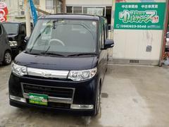 沖縄の中古車 ダイハツ タント 車両価格 44万円 リ済込 平成20年 12.7万K 紺M
