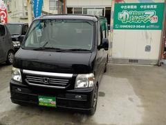 沖縄の中古車 ホンダ バモス 車両価格 25万円 リ済込 平成19年 17.1万K ブラックM