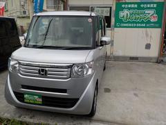 沖縄の中古車 ホンダ N BOX 車両価格 69万円 リ済込 平成24年 16.2万K アラバスターシルバーメタリック