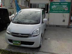 沖縄の中古車 ダイハツ ムーヴ 車両価格 24万円 リ済込 平成20年 14.7万K パールホワイトIII