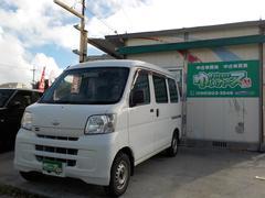 沖縄の中古車 ダイハツ ハイゼットカーゴ 車両価格 35万円 リ済込 平成21年 15.8万K ホワイト