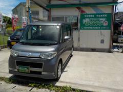 沖縄の中古車 ダイハツ タント 車両価格 40万円 リ済込 平成20年 14.7万K グレーM