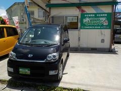 沖縄の中古車 ダイハツ ムーヴ 車両価格 36万円 リ済込 平成20年 12.6万K ブラックマイカ