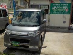 沖縄の中古車 ダイハツ タント 車両価格 40万円 リ済込 平成20年 13.1万K プラチナグレーメタリック