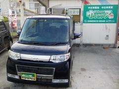 沖縄の中古車 ダイハツ タント 車両価格 57万円 リ済込 平成21年 7.5万K 紺M
