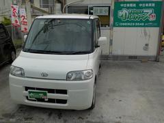 沖縄の中古車 ダイハツ タント 車両価格 20万円 リ済込 平成17年 13.6万K パールホワイト