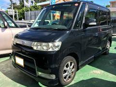 沖縄の中古車 ダイハツ タント 車両価格 36万円 リ済込 平成18年 11.2万K ブラックマイカ