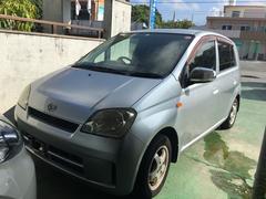 沖縄の中古車 ダイハツ ミラ 車両価格 12万円 リ済込 平成15年 14.3万K ブライトシルバーメタリック