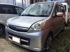 沖縄の中古車 スバル ステラ 車両価格 23万円 リ済込 平成18年 10.3万K プレミアムシルバーメタリック