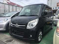 沖縄の中古車 スズキ パレット 車両価格 38万円 リ済込 平成21年 8.8万K ブルーイッシュブラックパール3
