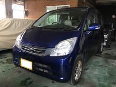 沖縄の中古車 ダイハツ ムーヴ 車両価格 28万円 リ済込 平成22年 16.3万K アーバンナイトブルークリスタルM