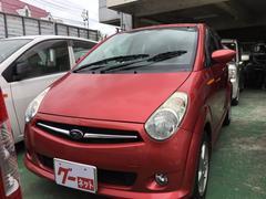 沖縄の中古車 スバル R2 車両価格 26万円 リ済込 平成17年 3.9万K ベリーレッドメタリック