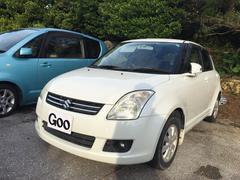 沖縄の中古車 スズキ スイフト 車両価格 25万円 リ済込 平成19年 8.2万K ホワイト