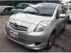 沖縄の中古車 トヨタ ヴィッツ 車両価格 17万円 リ済込 平成18年 9.0万K シルバー