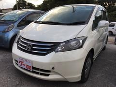 沖縄の中古車 ホンダ フリード 車両価格 19万円 リ済込 平成20年 27.9万K パールホワイト