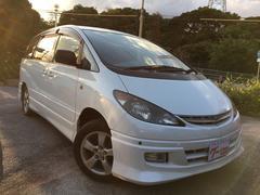 沖縄の中古車 トヨタ エスティマL 車両価格 23万円 リ済込 平成14年 5.8万K ホワイト