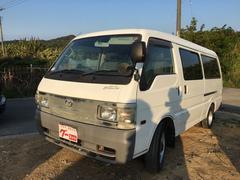 沖縄の中古車 マツダ ブローニィバン 車両価格 48万円 リ済込 平成18年 10.2万K ホワイト