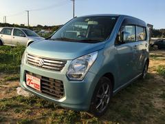 沖縄の中古車 スズキ ワゴンR 車両価格 58万円 リ済込 平成25年 4.0万K ライトブルーM