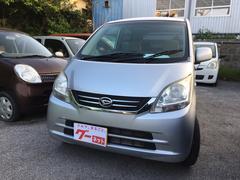 沖縄の中古車 ダイハツ ムーヴ 車両価格 20万円 リ済込 平成21年 12.8万K ブライトシルバーメタリック