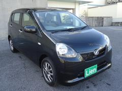 沖縄の中古車 ダイハツ ミライース 車両価格 53万円 リ済込 平成24年 6.5万K DブラックM