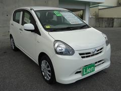 沖縄の中古車 ダイハツ ミライース 車両価格 49万円 リ済込 平成24年 7.2万K ホワイト