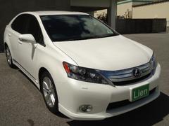 沖縄の中古車 レクサス HS 車両価格 173万円 リ済込 平成24年 8.0万K パールM