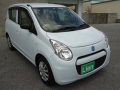 沖縄の中古車 スズキ アルトエコ 車両価格 49万円 リ済込 平成24年 6.5万K ホワイト