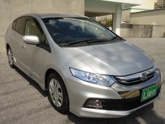 沖縄の中古車 ホンダ インサイトエクスクルーシブ 車両価格 73万円 リ済込 平成24年 7.2万K シルバーM