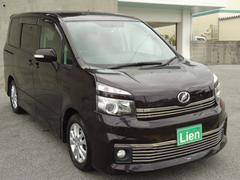 沖縄の中古車 トヨタ ヴォクシー 車両価格 128万円 リ済込 平成22年 8.2万K パープル