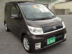 沖縄の中古車 ダイハツ ムーヴ 車両価格 50万円 リ済込 平成21年 8.3万K ブロンズ