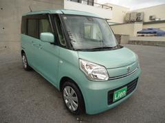 沖縄の中古車 スズキ スペーシア 車両価格 79万円 リ済込 平成26年 9.2万K LグリーンII
