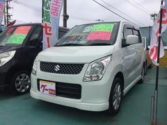 沖縄の中古車 スズキ ワゴンR 車両価格 55万円 リ済込 平成21年 7.4万K パールホワイト