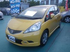 沖縄の中古車 ホンダ フィット 車両価格 45万円 リ済込 平成20年 11.0万K イエロー