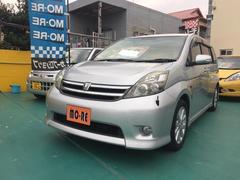 沖縄の中古車 トヨタ アイシス 車両価格 54万円 リ済込 平成19後 7.5万K シルバー