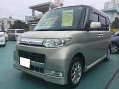 沖縄の中古車 ダイハツ タント 車両価格 67万円 リ済込 平成21年 9.4万K ゴールド