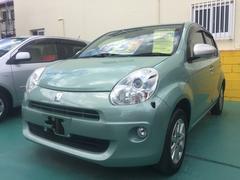 沖縄の中古車 トヨタ パッソ 車両価格 55万円 リ済込 平成22年 4.9万K Lグリーン