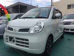 沖縄の中古車 日産 モコ 車両価格 45万円 リ済込 平成22年 7.0万K パールホワイト