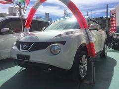 沖縄の中古車 日産 ジューク 車両価格 119万円 リ済込 平成24年 2.1万K パールホワイト