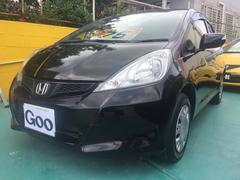 沖縄の中古車 ホンダ フィット 車両価格 75万円 リ済込 平成25年 2.7万K ブラック