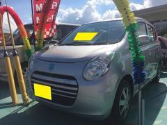沖縄の中古車 スズキ アルトエコ 車両価格 52万円 リ済込 平成25年 4.1万K シルバー