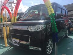 沖縄の中古車 ダイハツ タント 車両価格 57万円 リ済込 平成20年 8.7万K ブラック
